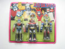 Grendizer GaiKing ComBattler V Super Robot Figure Set Popy Japan Vintage 1980s