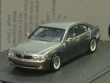 Herpa BMW 7er grau metallic, dealer model - 521 - 1:87