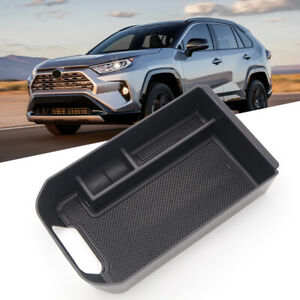 For Toyota RAV4 XA50 2019 2020 2021 Black Center Storage Box Auto Organizer Case