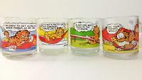 Vintage Garfield McDonald's 1978 Glass Mugs -- You Choose -- Build Your Own Set