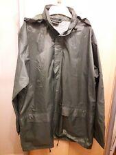 "CHAMPION Mens Khaki raincoat, size XL, 44"""