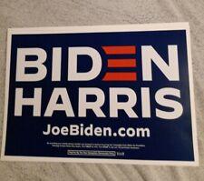 Joe Biden Kamala Harris Official Campaign Placard/Rally Sign