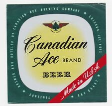 Canadian Ace Beer Label
