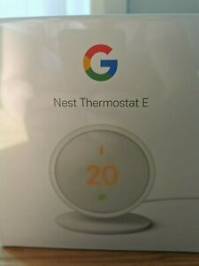 Google Nest Thermostat E + Heat Link - Brand New