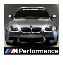 BMW M Performance Windscreen Stickers Decals Vinyl Graphics 1 2 3 4 5 6 7 Series