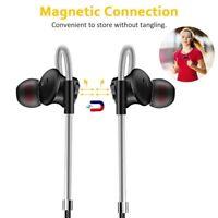 3.5mm Magnetic In-ear Earphone Super Bass Music+Mic Stereo Earbud Headset RA