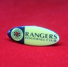 Vintage Scotland Glasgow Rangers FC Soccer Oval Pin Badge