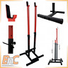 SQUAT RACK STANDS BENCH PRESS BARBELL STANDS POWER RACK ADJUSTABLE Heavy Duty