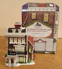 "Department 56.Dickens Village.Ornament. ""Crown & Cricket Inn""."