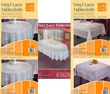 oval - Vinyl Tablecloths