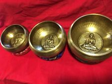3 Sets Of Tibetan Healing Singing Bowl