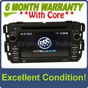 2013 - 2016 Buick Enclave Intellink RSE MyFi Navigation Radio AM FM SAT USB