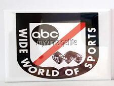 "ABC Wide World of Sports Fridge MAGNET  2"" x 3"" art NOSTALGIC"