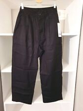Uniqlo U Relaxed Wide Fit Trousers Black - Small