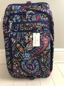 Vera Bradley Lighten Up Convertible Travel Bag Backpack Petite Paisley NEW