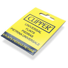 9 x CLIPPER Lighter Flints Universal Flint For All Types Lighters Cigarette NEW