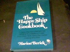 The Happy Ship Cookbook by Marion Berick signed by author s15