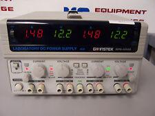 9271 GW INSTEK GPS-4303 4 CHANNEL LAB DC POWER SUPPLY 30 VOLT / 3 AMP