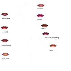 Avon Ultra/True Colour Lipstick-  shea butter and vitamin E Assorted Shades