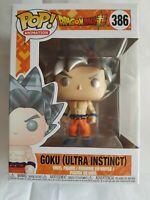 🎁 Pop Vinyl Figure Dragonball Z  #386 Goku Ultra Instinct