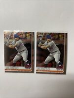 2019 Topps Chrome Update Series #86 Pete Alonso RC ASG New York Mets Lot PA5