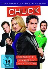 5 DVD Box * Chuck - Season/Staffel 4 * NEU OVP