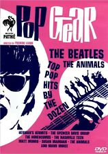 POP GEAR aka GO GO MANIA FEATURE FILM DVD british invasion beatles liverpool