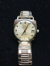 Vintage Mens Gold Filled Hamilton Automatic Wristwatch Working