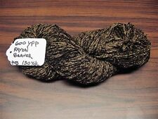 RAYON Chenille Yarn 600 YPP 1 Skein, 4 oz.150 Yards Color Beaver