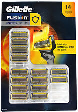 Gillette Fusion Proshield Razor Blade Refill 14 Cartridges  BRAND NEW SEALED