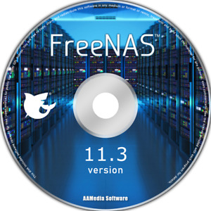FreeNAS 11.3 64bit Network Attached Storage Interface software free NAS server