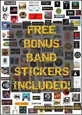 DROWNING POOL Ltd Ed Discontinued RARE Stickers Lot +FREE Rock/Metal Stickers!