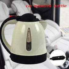12v Car Travel Kettle electric CamperVan Motorhome Cigarette Lighter Socket