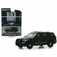 Greenlight 1:64 Black Bandit Police 2020 FORD EXPLORER INTERCEPTOR UTILITY New