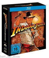 INDIANA JONES, The Complete Adventures (5 Blu-ray Discs) NEU+OVP