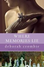 Where Memories Lie (Duncan Kincaid/Gemma James Novels) by Crombie, Deborah