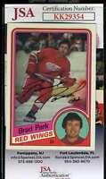 Brad Park JSA Coa Hand Signed 1984 Topps Autograph