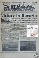 *CD FIle The Black Cat 1945 5 13th Armored Division Straubing Braunau POW PDF