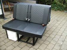 VW T4 T5 ROCK AND ROLL CAMPER BED WITH SEAT BELTS BOARDS AND CUSHIONS