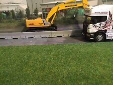 1:50 Scale 3d Printed Concrete/ Jersey Barrier  Would suit  Wsi ,Tekno, Corgi