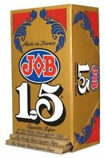 JOB 1.5 Gold Cigarette Rolling Papers - 24 Sheets Per Pack - 3 Packs