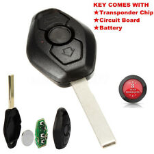 Remote Key Fob 315/433MHz Uncut Blade Replacement For BMW 3 5 7 Series E38 E46