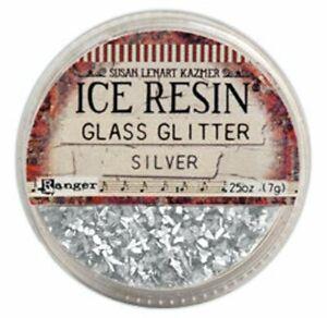Ranger - Ice Resin - German Glass Glitter - Chunky - SIlver