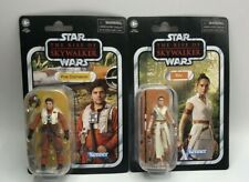 Star Wars The Vintage Collection Get Both Rey and Poe Dameron Action Figures New