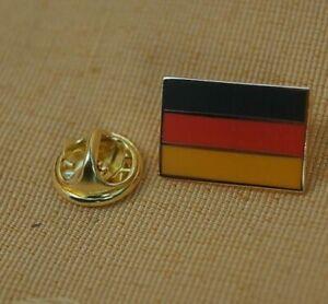 Deutschland  rechteckig Pin Anstecker Anstecknadel Flaggenpin Button Badge #1