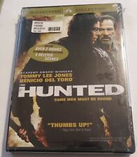 The HUNTED DVD 2003 Widescreen BRAND NEW SEALED Tommy Lee Jones 2 HRS BONUS TORO