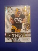 2009 Rookies & Stars Clay Matthews Autograph rookie card RC 083/100 Packers