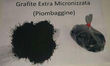 Grafite - Piombaggine  (Carbonio Puro in polvere)  Belle Arti Gr. 100