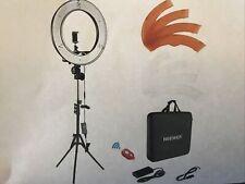 "Neewer Ring Light Kit:18""/48cm Dimmable LED Ring Light, Light Stand,Carrying Bag"