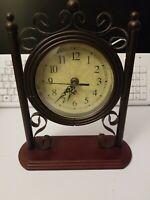 Decorative Mantel Shelf Clock Works Fast Shipping!!!!!!